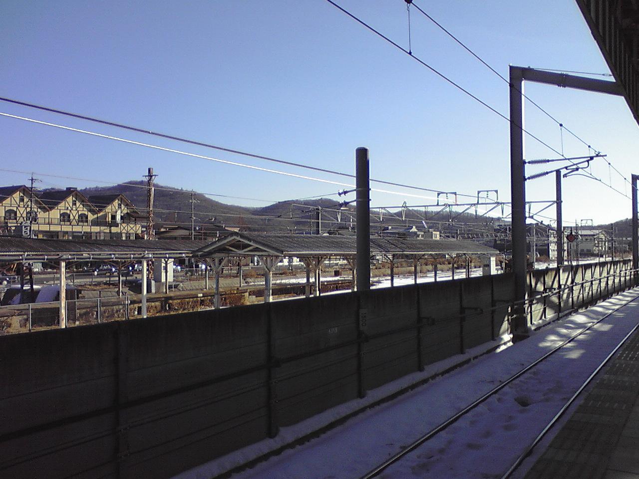 今朝の軽井沢【快晴】