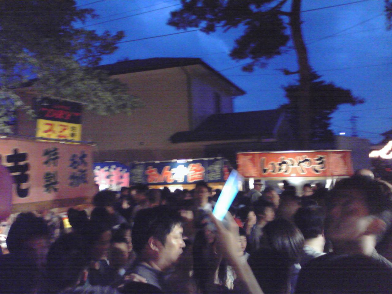 長倉のお祭り