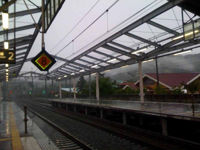今朝の軽井沢【雷雨】