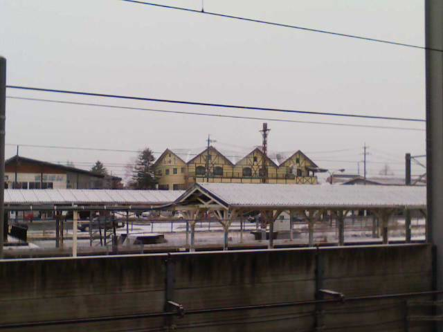 今朝の軽井沢【小雪】