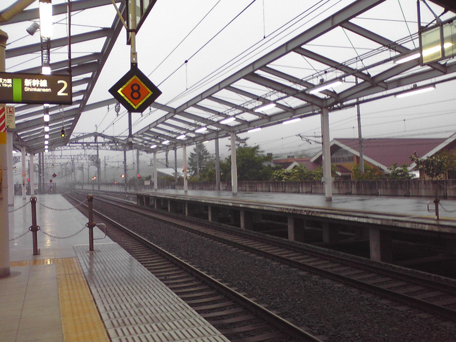 今朝の軽井沢【小雨】