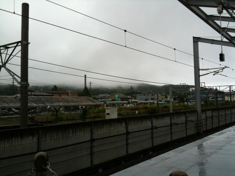 今朝の軽井沢【雨】