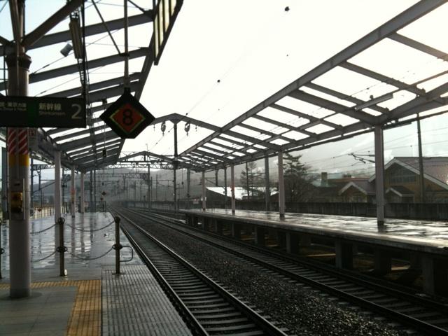 今朝の軽井沢【雨後曇り】