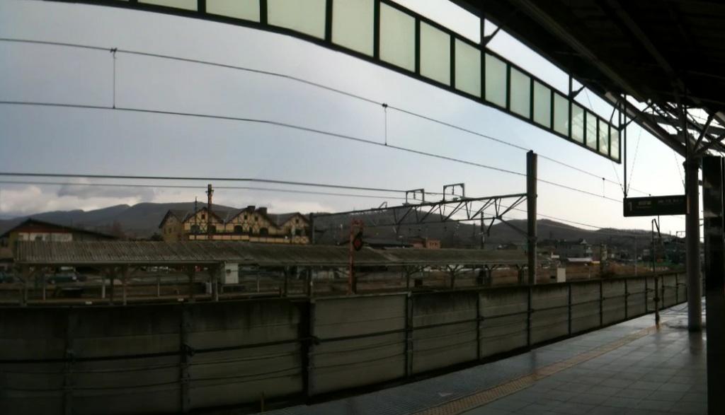 今朝の軽井沢【曇り時々晴れ、時々小雨】
