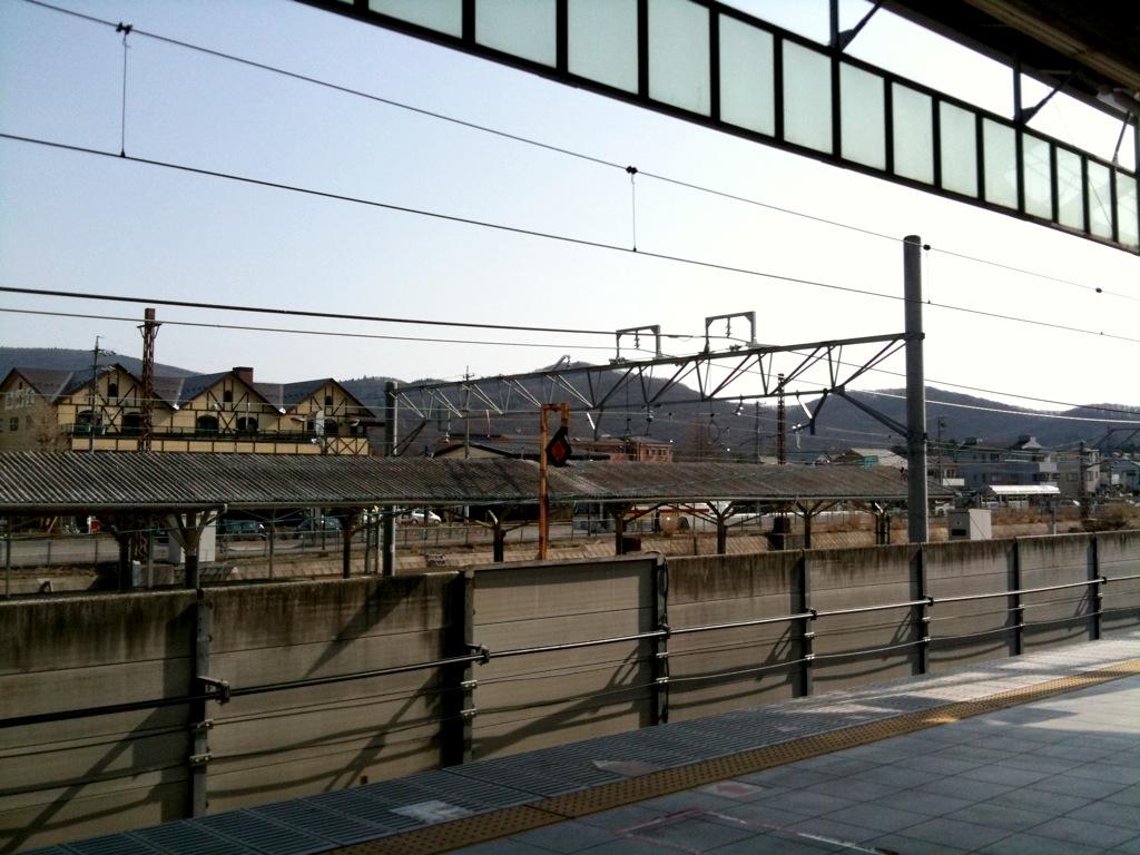 今朝の軽井沢【晴れ】