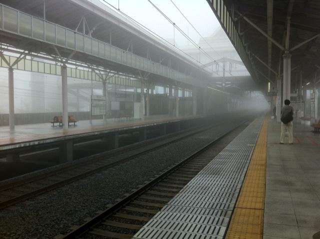 今朝の軽井沢【霧雨】