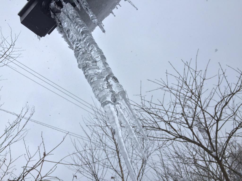 今日の軽井沢【雪のち曇り】