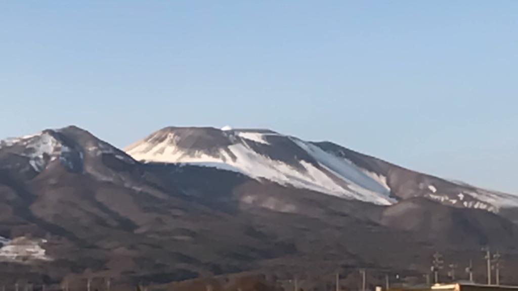 最近の浅間山。