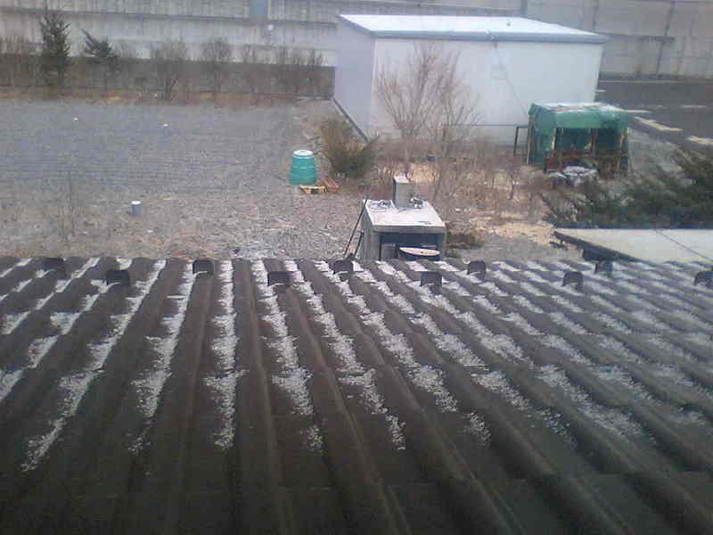 今日の軽井沢【雪→曇り】
