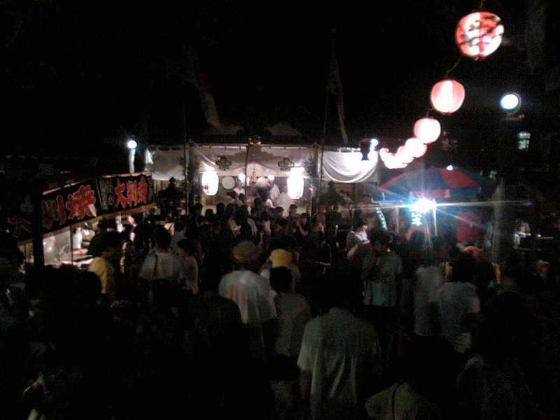 軽井沢の夏の終わり