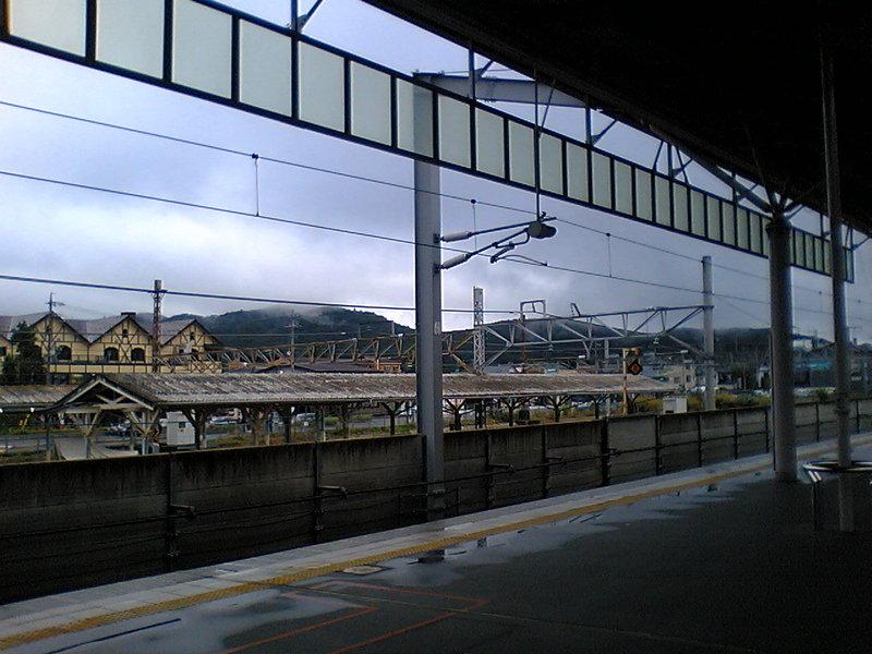 今朝の軽井沢【曇り時々雨】