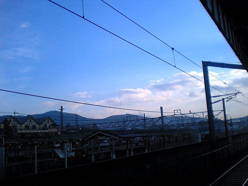 今朝の軽井沢【雨のち晴れ】