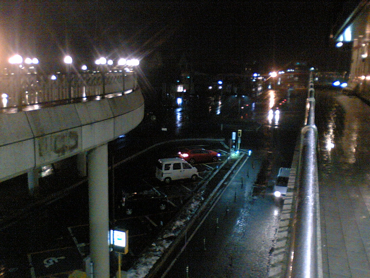 今夜の軽井沢【雨】