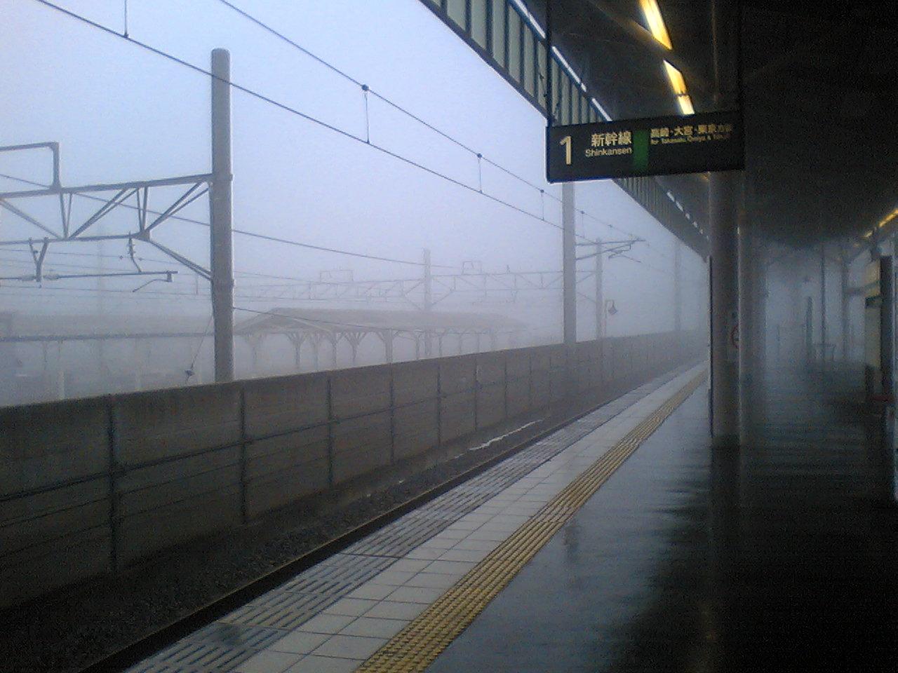 今日の軽井沢【霧雨】