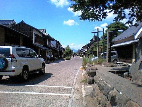 【海野宿:01】白鳥神社前より
