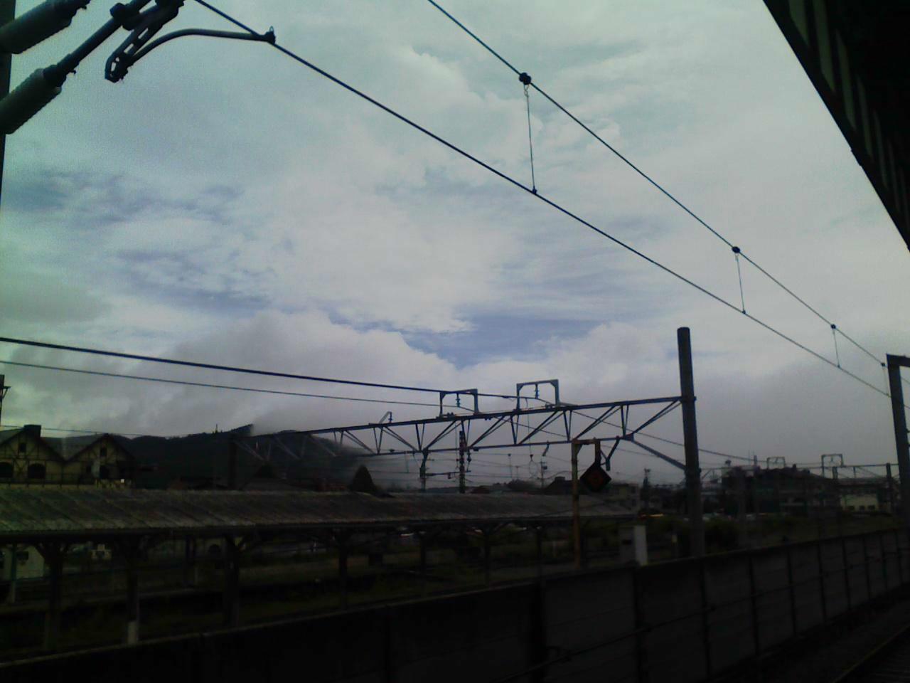今朝の軽井沢【曇り】