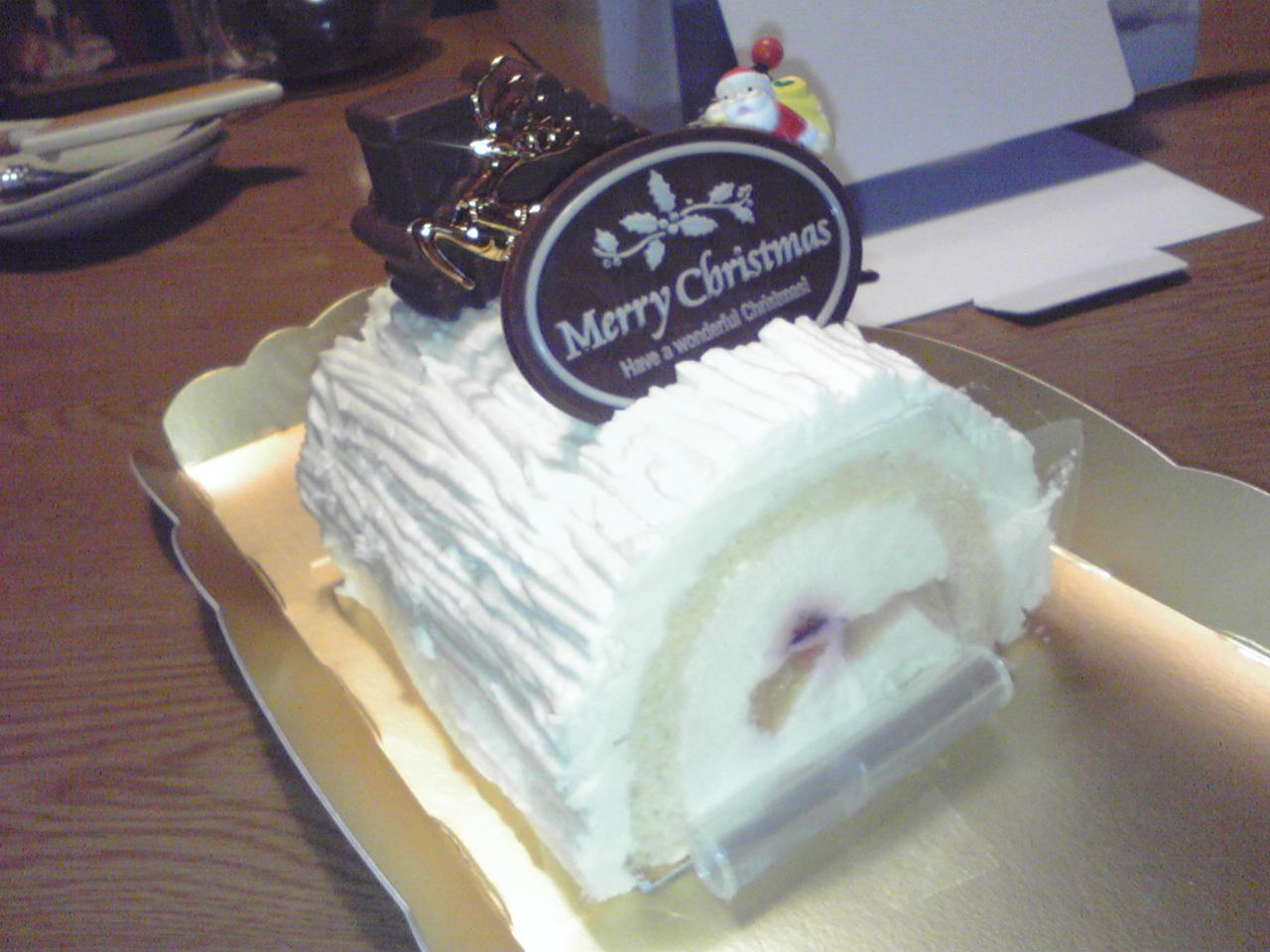 今年のクリスマスケーキは絶品。