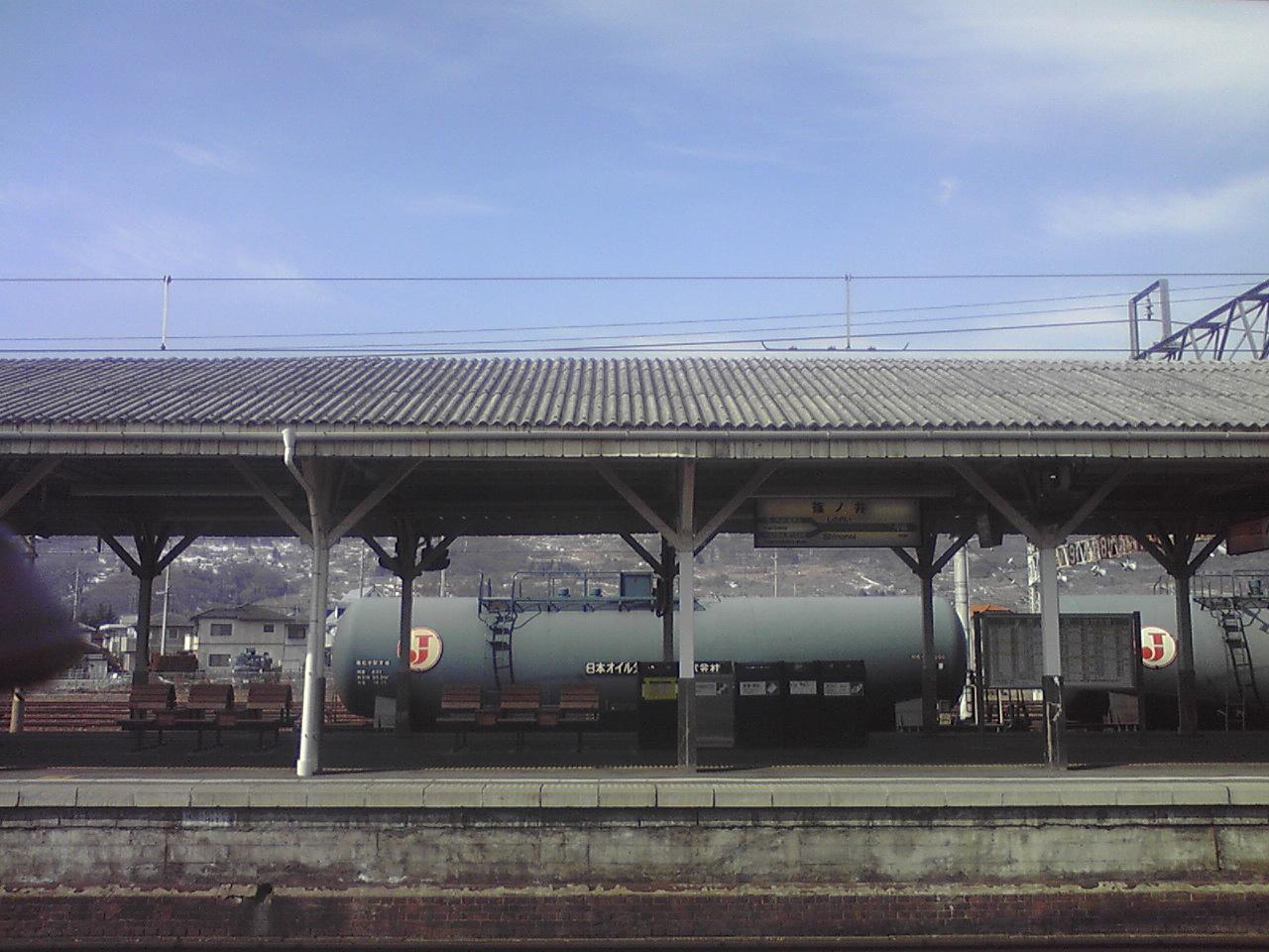 貨物列車。