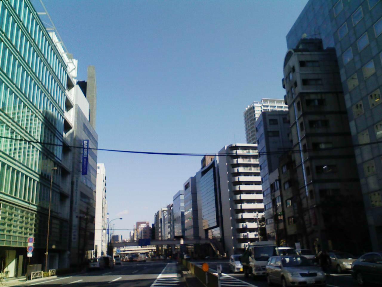 今朝の東京【晴れ】