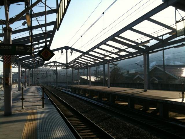 今朝の軽井沢【曇り時々晴れ】