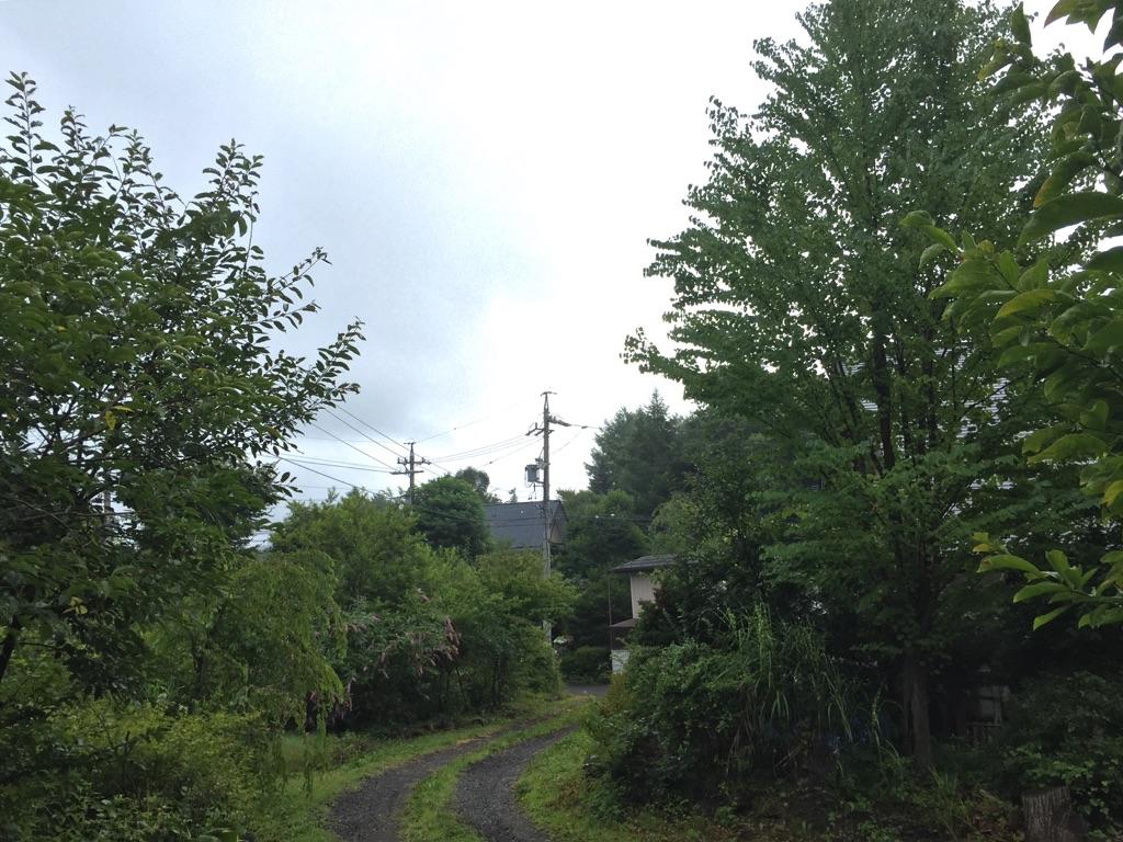 今日の軽井沢【曇りのち晴れ】