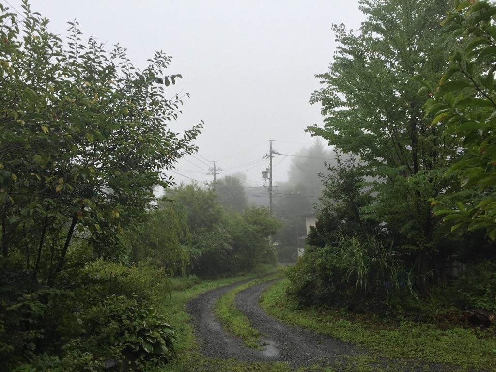 今日の軽井沢【雨】