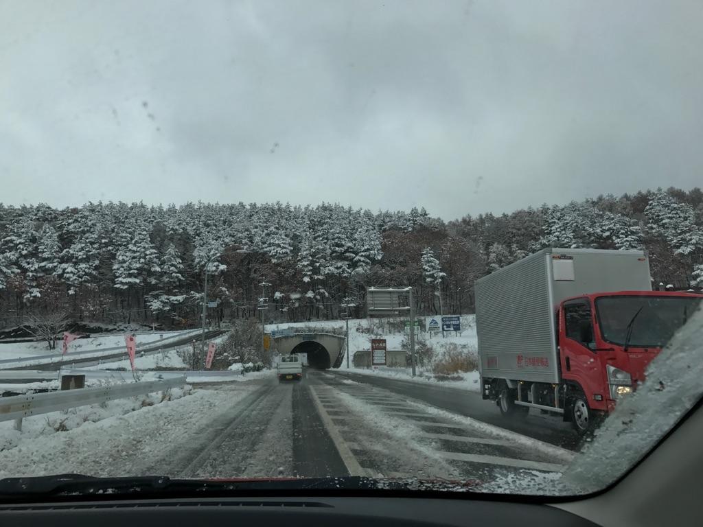 初雪は大雪