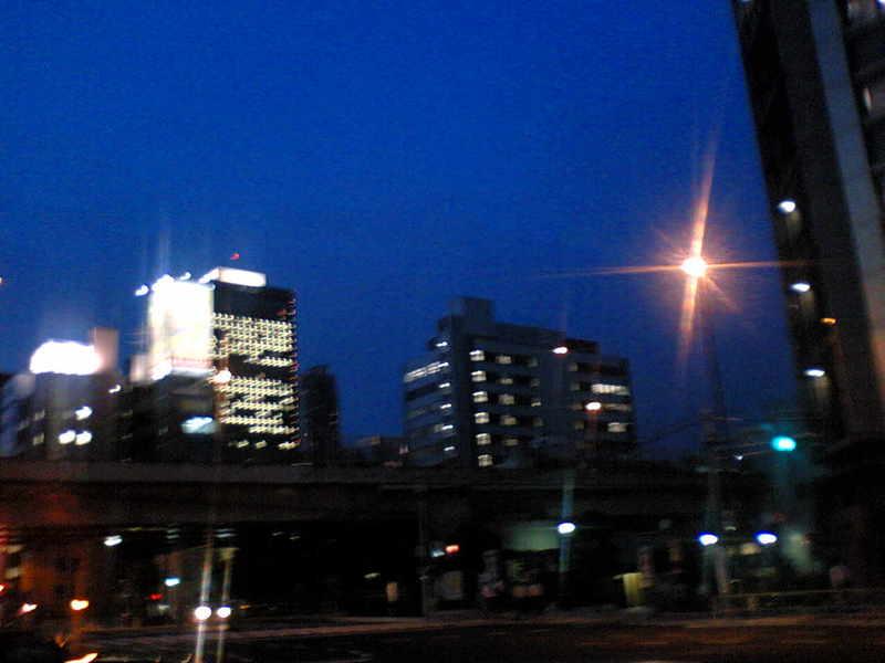 今夜の都内【晴れ】