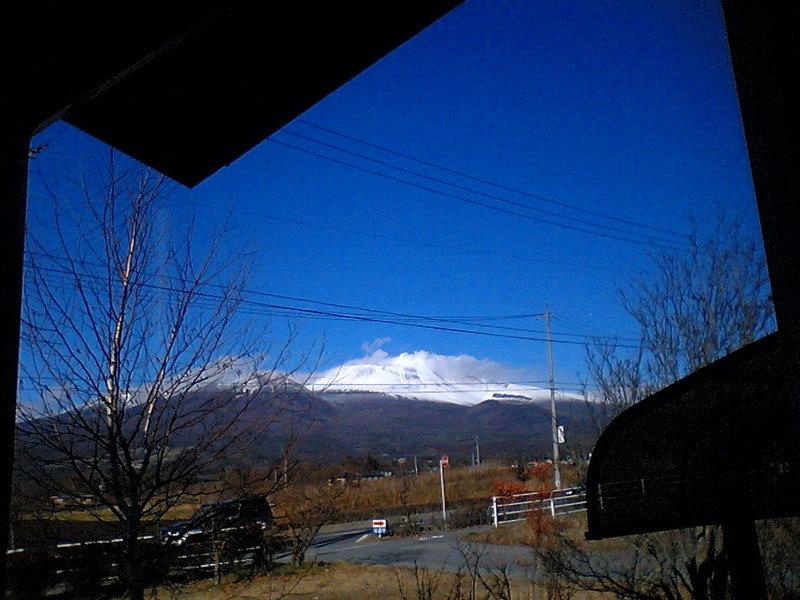 今日の軽井沢【晴れ時々曇り】