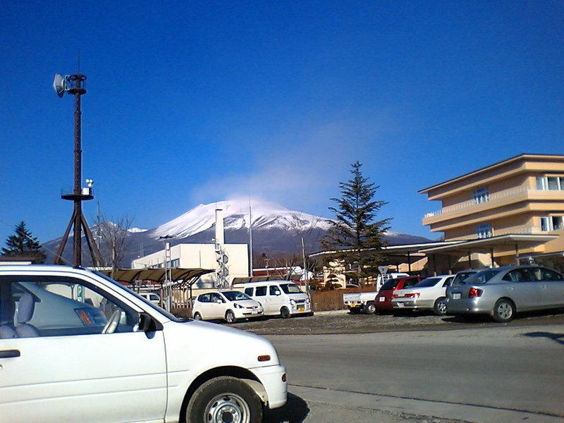 今朝の浅間山【快晴】